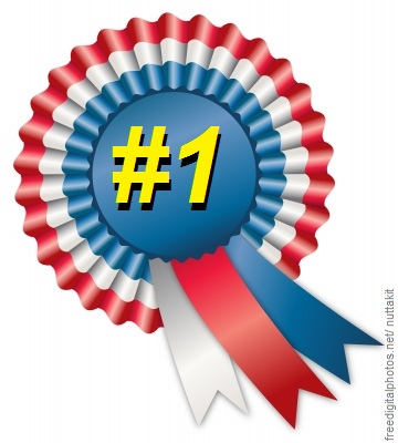 number one ribbon
