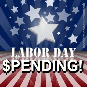labor day spending