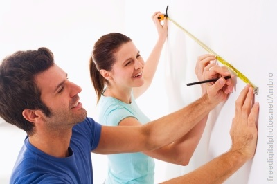 Home improvement couple, seen in happier times